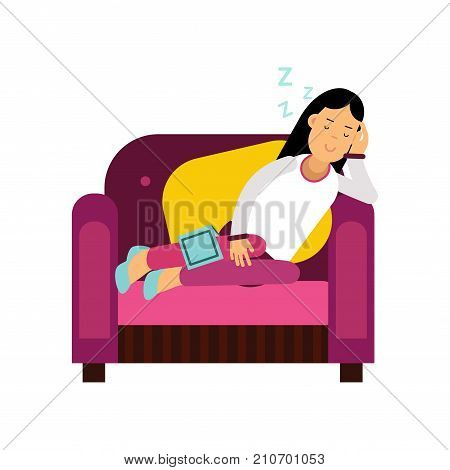 Outstanding Beautiful Brunette Vector Photo Free Trial Bigstock Unemploymentrelief Wooden Chair Designs For Living Room Unemploymentrelieforg