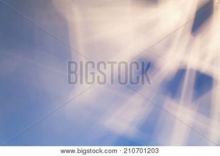 Light Beams And Shadows Pattern