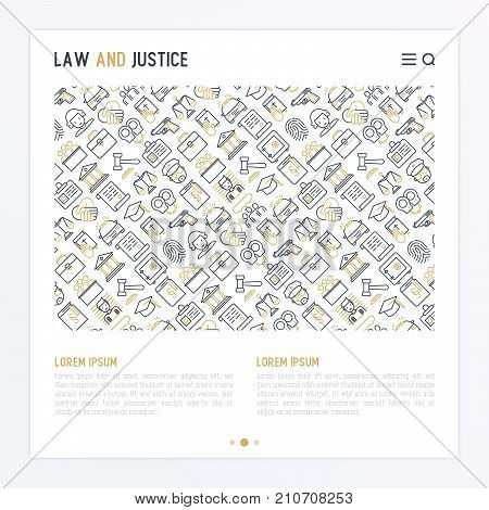 Law Justice Concept Vector Photo Free Trial Bigstock
