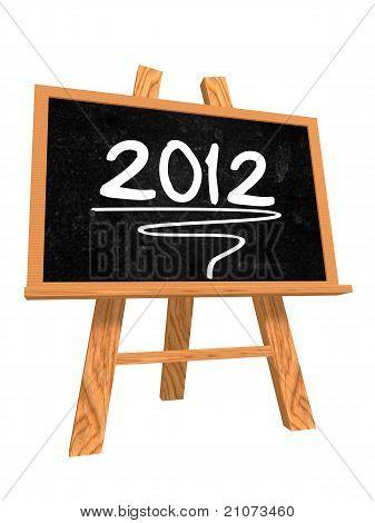 2012 On Blackboard