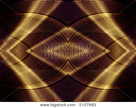 Gold Light Abstract Background