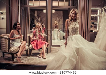 Girls In Wedding Salon