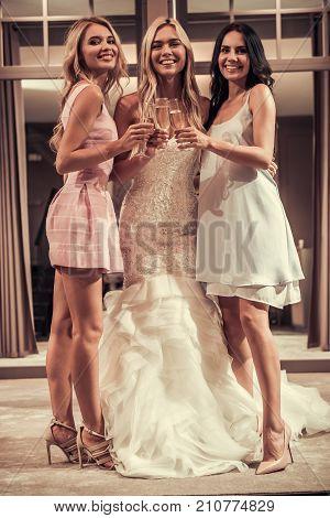 Girls In Wedding Salon