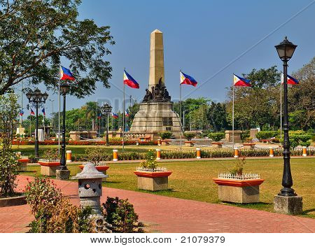 Josie Rizal Monument In Rizal Park