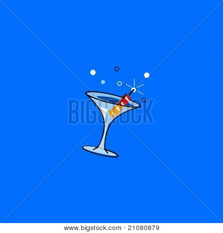 firecracker martini
