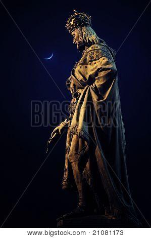 Prague - Charles IV statue