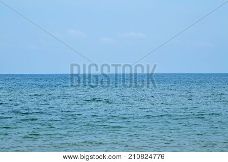 Pictures of beach and sea at Hua Hin Thailand