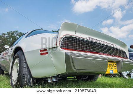 Pontiac Trans Am Turbo Presented On Annual Oldtimer Car Show, Israel