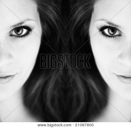 Abstract Girl