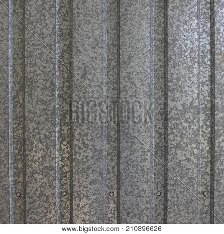 Old galvanized sheet texture or background .