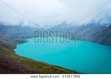 Ala Kul Lake, Kyrgyzstan