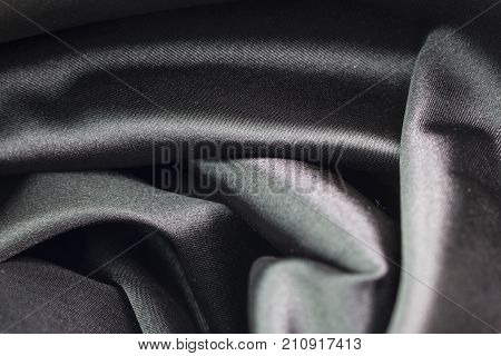 natural fabric linen texture for design. sackcloth textured. Canvas for Background. Image has shallow depth of field. black canvas texture background