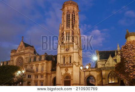 The town hall of 1st arrondissement of Paris is a striking eclectic building where neo Renaissance , French Renaissance and Flamboyant Gothic architectural features beautifully blend.