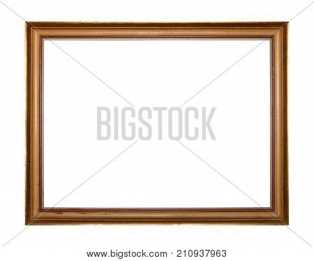 Golden Picture Or Photo Frame