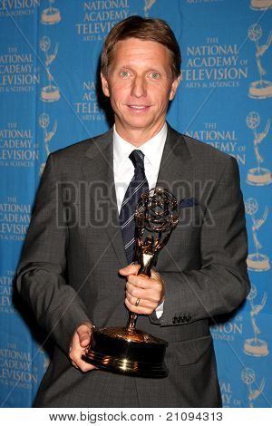 LOS ANGELES - JUN 17:  Brad Bell in the Press Area at the 38th Annual Daytime Creative Arts & Entertainment Emmy Awards at Westin Bonaventure Hotel on June 17, 2011 in Los Angeles, CA