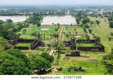 Vat Phou is the UNESCO world heritage site in Champasak Southern Laos