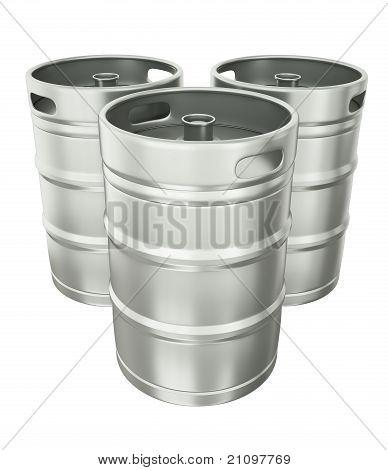 Bier-Fässer