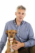A dog is a man's best friend poster