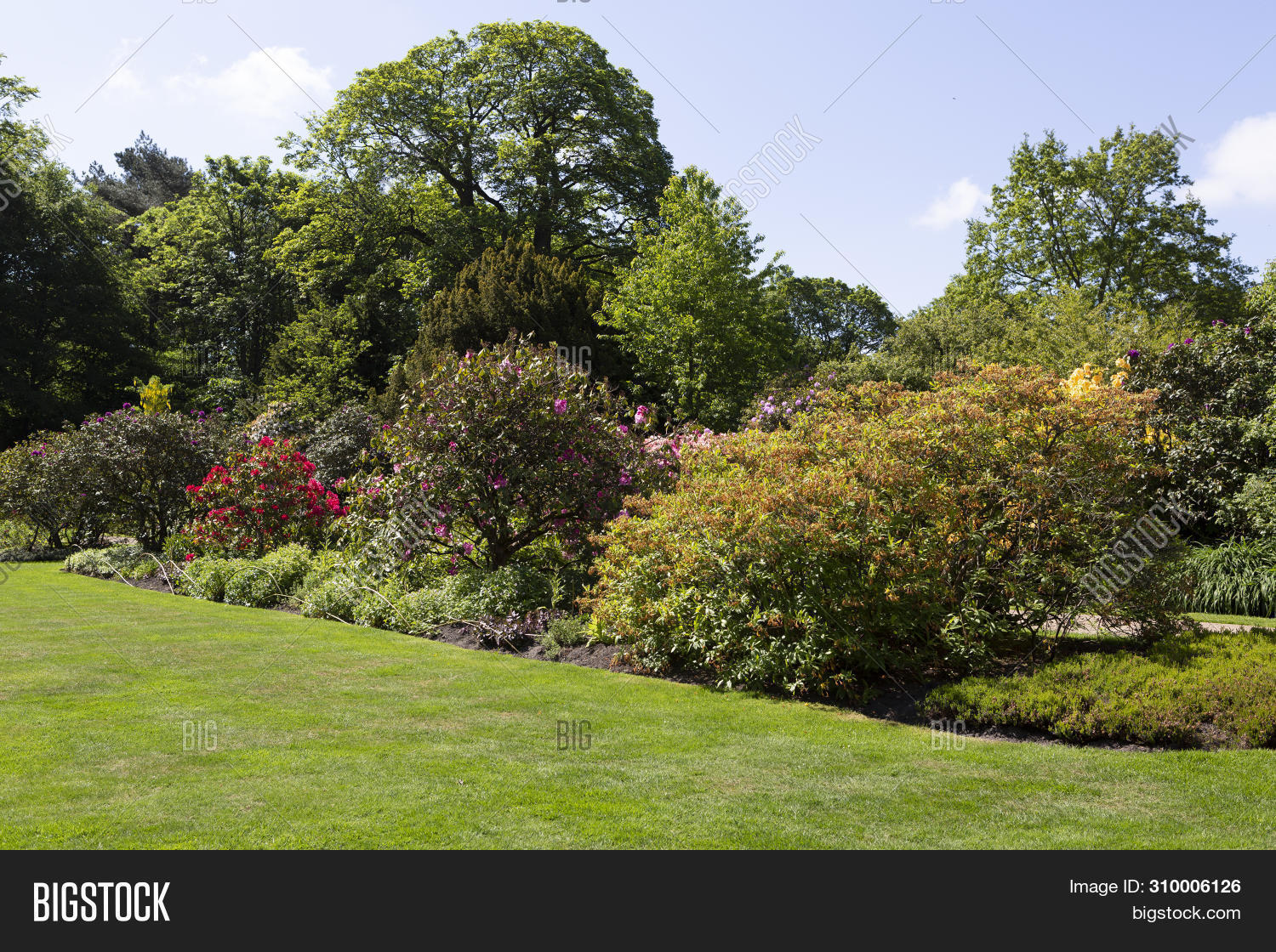 Beautiful Garden Image Photo Free Trial Bigstock
