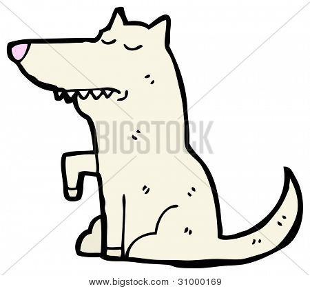 well behaved dog cartoon
