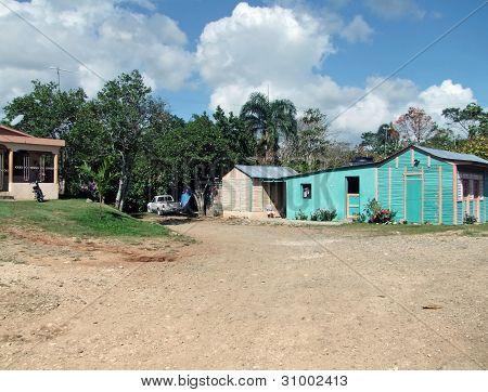 Cabins At Dominican Republic