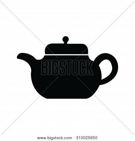 Teapot Icon In Trendy Design Style. Teapot Icon Isolated On White Background. Teapot Vector Icon Sim