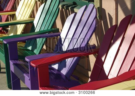 Colorful Fun Chairs