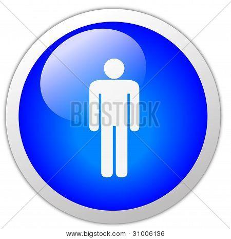 Men Icon Button