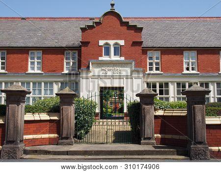 Southport, Merseyside, United Kingdom - 28 June 2019: The Former Convalescent Hospital Established B