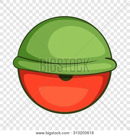 Bloodshot Eyeball Icon. Cartoon Illustration Of Bloodshot Eyeball Vector Icon For Web