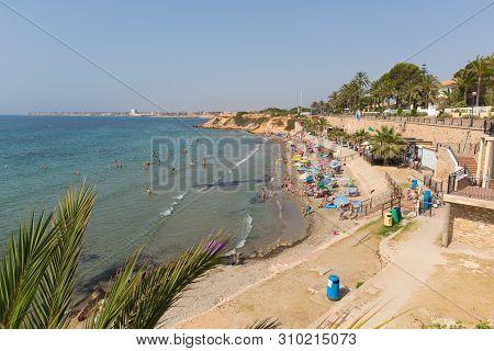 Punta Prima, Spain-july 1st 2019: Punta Prima 2 Days Before Daniel Mee, And Jayden Dolman Died In A