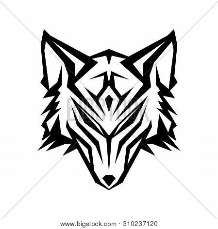 Abstract Head Wolf Vector Photo Free Trial Bigstock