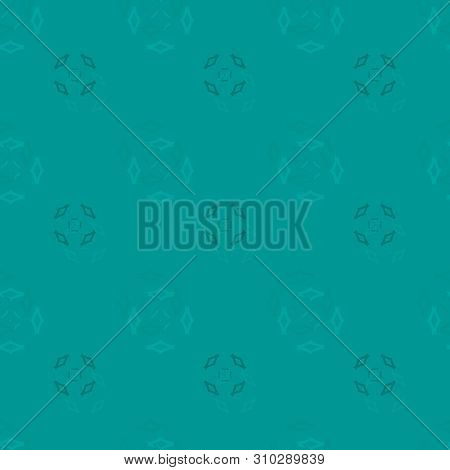 Seamless Background Pattern With Various Colored Rhombuses.