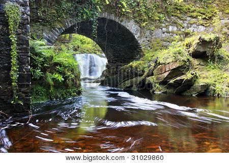 Lush Torc Waterfall, Ireland