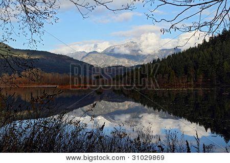 One mile lake, Pemberton