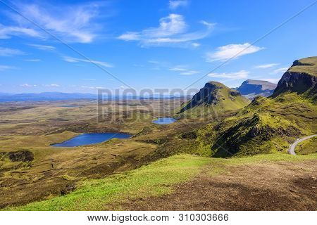 The Quiraing Is A Landslip On The Eastern Face Of Meall Na Suiramach, On The Isle Of Skye, Scotland