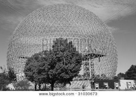 The Montreal's Biosphère
