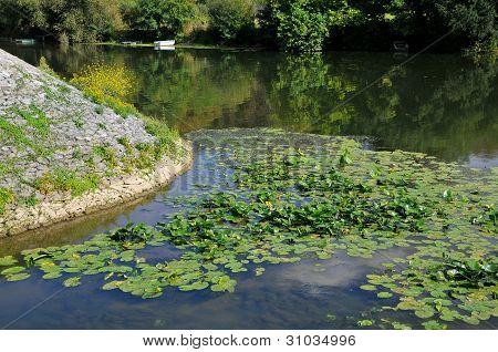 River Sarthe in France