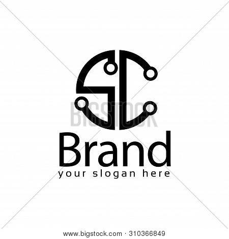 Letter Sc Stock Logo Vector Photo Free Trial Bigstock
