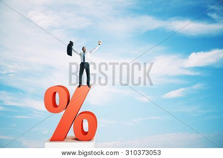 Interest Rate, Investment And Loan Concept