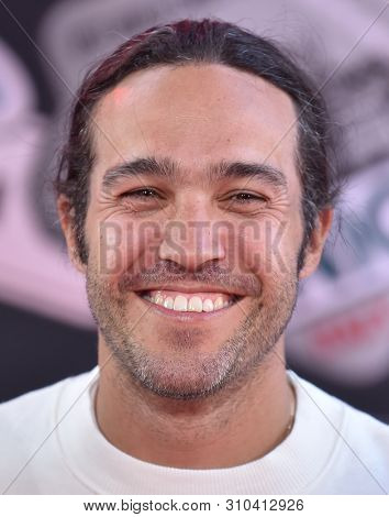 LOS ANGELES - JUN 26:  Pete Wentz arrives for the 'Spider-Man: Far From Home' World Premiere on June 26, 2019 in Hollywood, CA