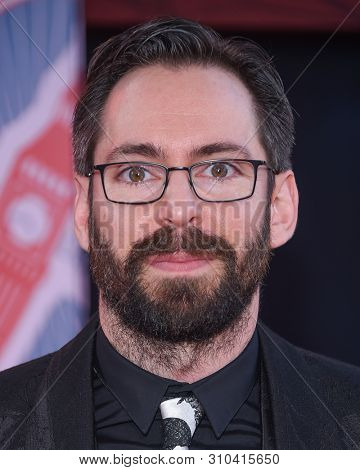 LOS ANGELES - JUN 26:  Martin Starr arrives for the 'Spider-Man: Far From Home' World Premiere on June 26, 2019 in Hollywood, CA