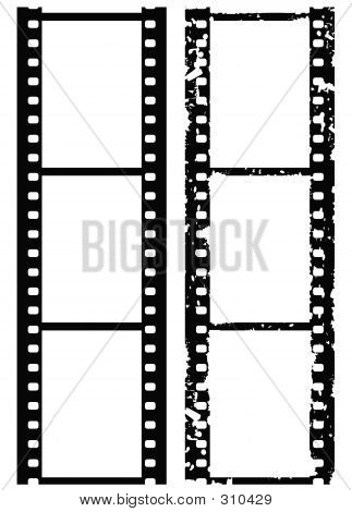 Grunge Photo Border, 35 Mm Film
