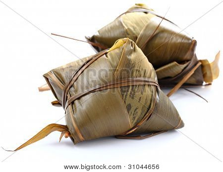 traditional wrapped rice dumplings