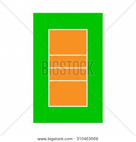 Vector Design Of Volleyball And Stadium Icon. Collection Of Volleyball And Volley Vector Icon For St
