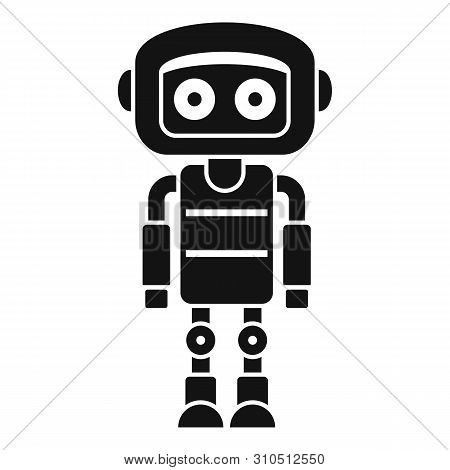 Metal Humanoid Icon. Simple Illustration Of Metal Humanoid Vector Icon For Web Design Isolated On Wh