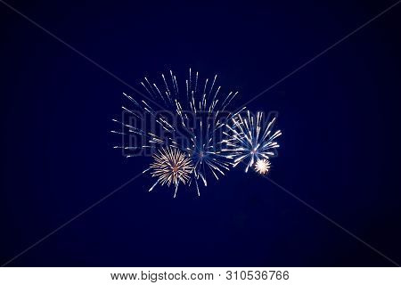 Cheap Bright Fireworks, White, In The Night Sky For Any Purpose