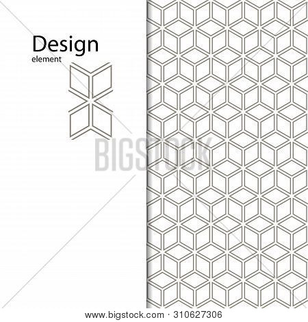 Traditional Arabic Seamless Geometric Pattern For Your Design, Laser Cutting, Stamping On Leather, C