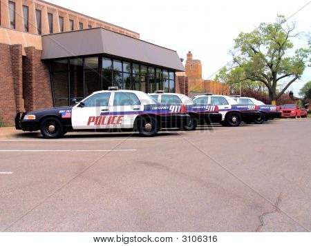 Police Cars By Station