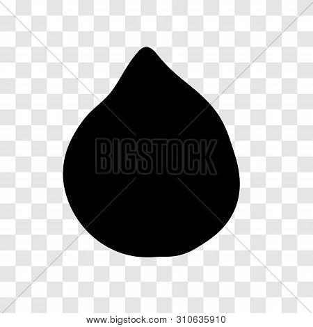 Zalacca Fruit Silhouette, Simple Illustration - Vector